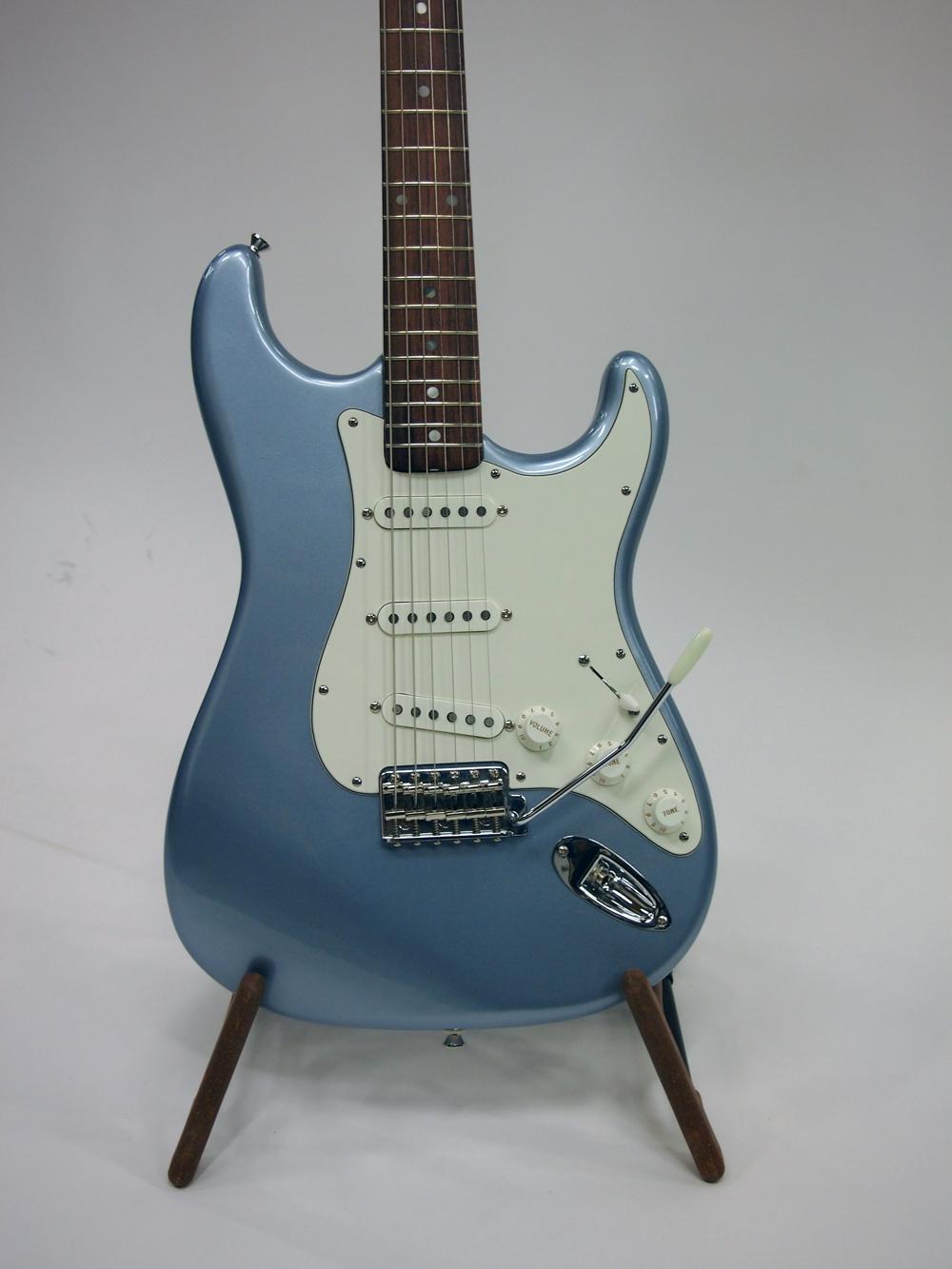 Ice Blue Metallic Vintage Guitar